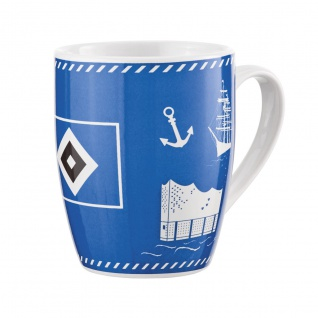 HSV Hamburger Sportverein Tasse / Kaffeebecher *** NORD ***