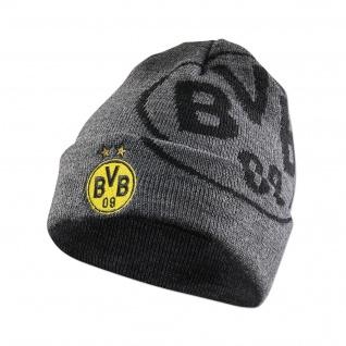BVB Borussia Dortmund Mütze / Beanie Logo 18271900