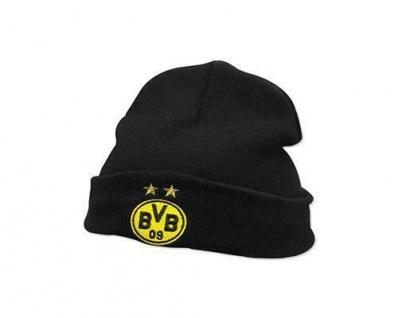 Borussia Dortmund BVB Mütze/Beanie Kids ** Logo mit Sterne ** 18272800