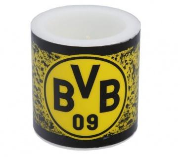BVB Borussia Dortmund *** Kerze Fahnenmeer ***
