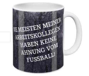FC Schalke 04 Tasse / Kaffeebecher ** Die meisten meiner Arbeitskollegen... ***