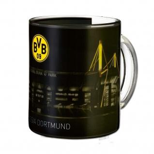 "BVB Borussia Dortmund Zauberglas / -Tasse "" Signal Iduna"