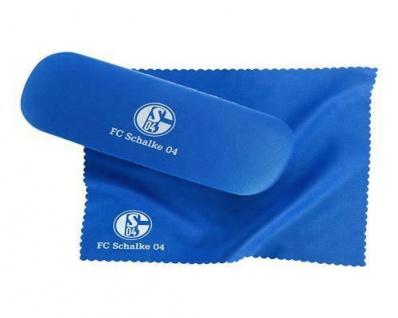 FC Schalke 04 Brillenetui mit Putztuch