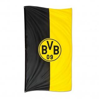 "BVB Borussia Dortmund Hissfahne / Fahne / Flagge "" 150 x400 cm Hochformat"