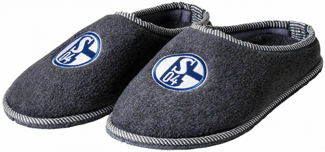 FC Schalke 04 Hausschuhe / Pantoffeln / Filzpantoffeln Gr. 38- 46 z Auswahl