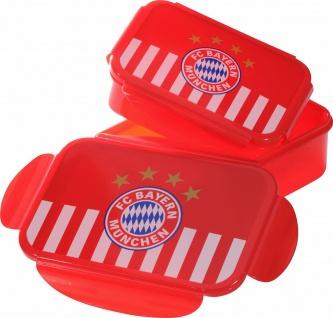 FC Bayern München Brotdose ( Brotdosen Set ** 2er - Set ** 21559