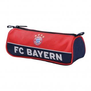 FC Bayern München Faulenzer Federmappe Federmäppchen Schlamper Etui