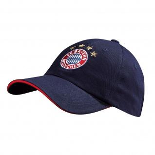 Fc Bayern München Kappe / Cap / Baseballcap ** Logo navy Kids ** 21788