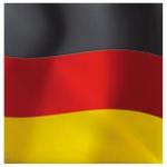 Deutschland WM Fanartikel Tücher / Servietten ** Fahnenoptik **