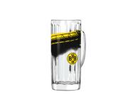 BVB Borussia Dortmund Bierglas mit Südtribüne Glas 0, 5 l 17441200