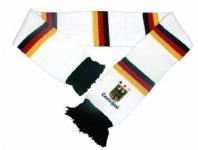 Deutschland WM Fanartikel Schal / ** Schal mit Fransen **