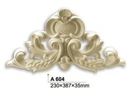 HX-A604 Universelles Wand und Decken Zierstuck als Innenstuck Zierelement aus PU Hartschaum 230x387mm 1 Stück - Vorschau 2