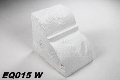 HX-EQ015W Konsole für Deckenbalken aus leichtem Polyurethan Hartschaum als rustikale Innendekoration 190x170x230mm Preis je Stück