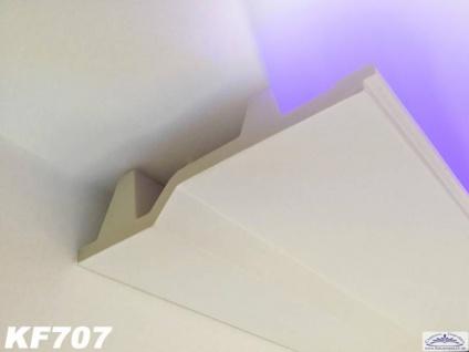 HX-KF707 Lichtleiste für indirekte LED Beleuchtung aus PU Hartschaum 179x45mm Deckenleiste 200cm