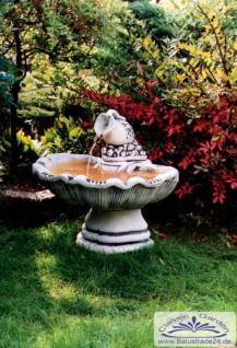 SR322 Wandbrunnen mit ovaler Schale und Wasserkrug als Wasserbecken Auslauf 73cm 122kg