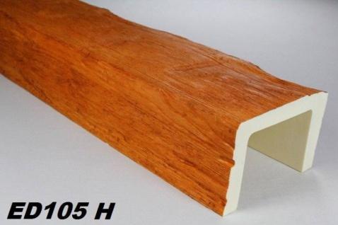 HX-ED105H Deckenbalken aus leichtem Polyurethan Hartschaum als rustikale Innendekoration 130x190mm Preis je Stück