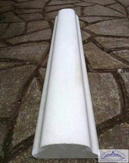 BD-7203 Beton Handlauf mini zu Balustraden System mini und midi oder auch als Mauerabdeckung 17cm breit 100cm lang