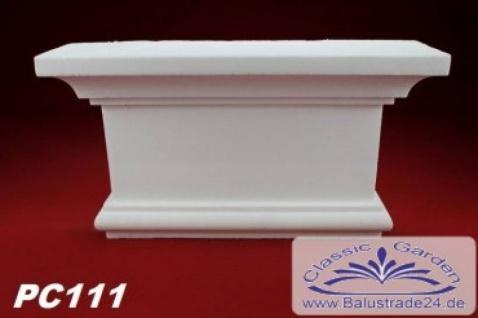 PC111 Pilaster Kapitell für Pilastersäulen Breite 305mm Styropor Fassadenstuck