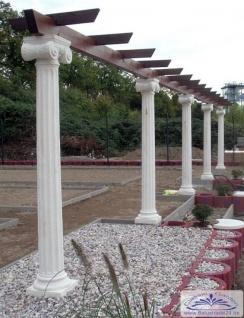 sr262 s 228 ule mit ionischem kapitell und sockel griechische betons 228 ule billig f 252 r garten pergola