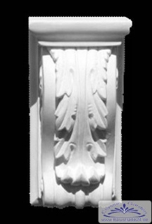 ED-4 Stuckkonsole Höhe 200 mm Gipskonsole kleiner Stuck Winkel als Zierelement