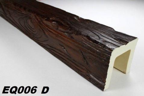 HX-EQ006D Deckenbalken aus leichtem Polyurethan Hartschaum als rustikale Innendekoration 120x120mm Preis je Stück