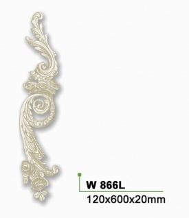 HX-W866L Wand und Decken Zierstuck Element als Innenstuck Zierelement aus PU Hartschaum 600x120mm 1 Stück - Vorschau 2