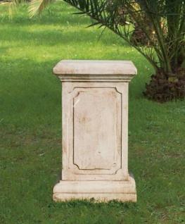 GF-Co-58 Sockel Podest für Skulpturensammlung Vierjahreszeiten Gartenfiguren 118cm in antikweiss 70cm 54kg