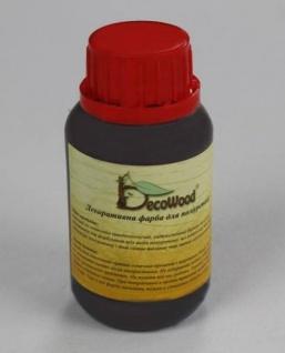 Deco Wood Farbe DUNKEL für Deckenbalken aus leichtem Polyurethan Hartschaum 100ml
