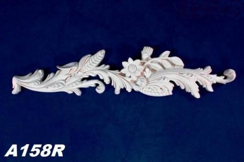 HX-A158R Wand und Decken Zierstuck Element als Innenstuck Zierelement aus PU Hartschaum 680x170mm 1 Stück