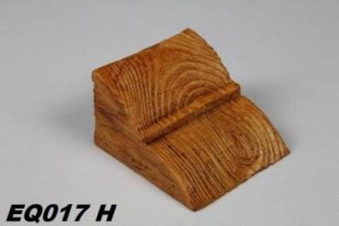 HX-EQ017H Konsole für Deckenbalken aus leichtem Polyurethan Hartschaum als rustikale Innendekoration 60x90x110mm Preis je Stück