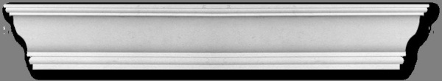 Eckprofil CE-913 Gipsstuck 85x95mm Decken Stuckleisten aus Gips Stuck 350cm - Vorschau 2