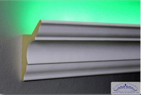 HX-LED-4 Lichtleiste für LED Beleuchtung aus PU Hartschaum 80x48mm 1Meter