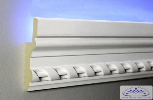 HX-LED-5 Lichtleiste für LED Beleuchtung aus PU Hartschaum 105x35mm 1Meter