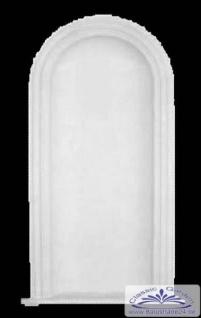 Stucknische N-2 Höhe 1127 mm Gipsstuck Nische Wandnische Gipsnische