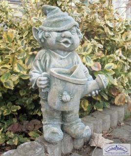 SO-10239 Gartenzwerg mit Gießkanne in der Hand Wichtel Gartenfigur 41cm - Vorschau 3