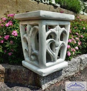 S602 Laterne Steinlaterne moderne Gartenlaterne im Feng Shui Stil 43cm 40kg