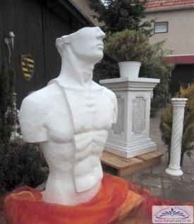 Torso Skulptur Mann Modern Art Design erotisches Bildhauer Figur 109cm 250kg - Vorschau 4