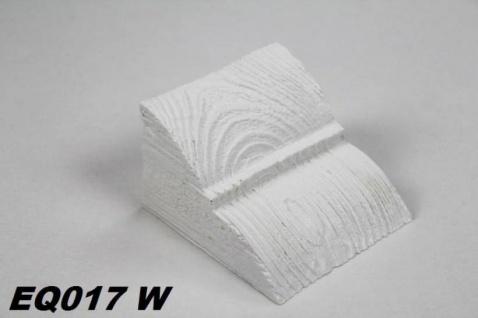 HX-EQ017W Konsole für Deckenbalken aus leichtem Polyurethan Hartschaum als rustikale Innendekoration 60x90x110mm Preis je Stück