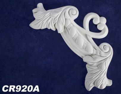 HX-CR920A Schmuck Segment zur Flachleiste CR920 Wand Decken Innenstuck Zierelement 230x230mm