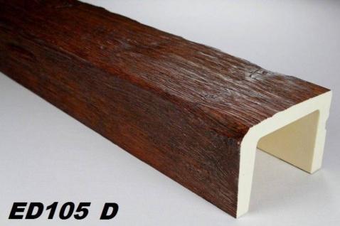 HX-ED105D Deckenbalken aus leichtem Polyurethan Hartschaum als rustikale Innendekoration 130x190mm Preis je Stück