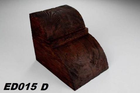 HX-ED015D Konsole für Deckenbalken aus leichtem Polyurethan Hartschaum als rustikale Innendekoration 190x170x230mm Preis je Stück