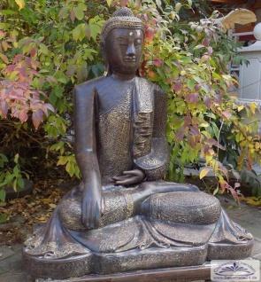 BD-3114 Akshobhya Buddha beim Gebet XXL grosse Buddhafigur