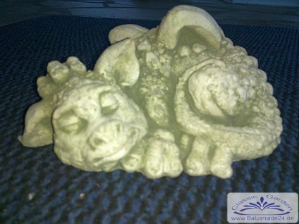 BD-3511 Mini Drachen Figur Babydrachen Steinfigur 1kg - Vorschau 2