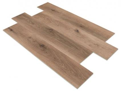 SPC Vinylboden PS18 Bodenbelag auf Vinyl Basis mit 4F Klick System 23x122cm Farbe Caramel 2, 78QM