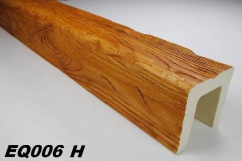 HX-EQ006H Deckenbalken aus leichtem Polyurethan Hartschaum als rustikale Innendekoration 120x120mm Preis je Stück