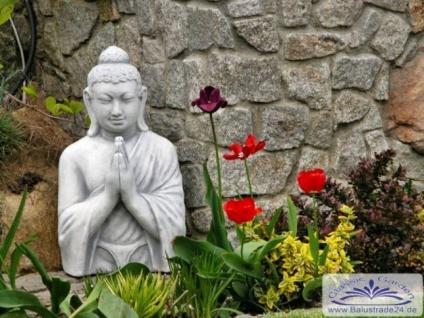 SRS101059 Buddha Skulptur Buddhabüsten Figur 54cm 32kg