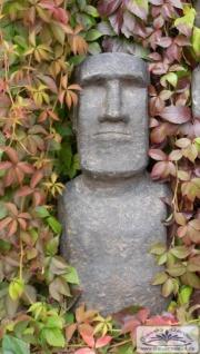 Moai Skulptur small Osterinsel Figur Rapa Nui Gartendekoration Steinfigur 74cm 80kg Beton Steinguss