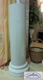 Styropor Säulen Halbschale 300cm lang SA 20 G runde glatte Oberfläche Verkleidung Betonsäule ...