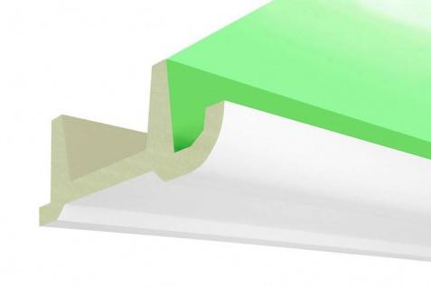 LED-17 Deckenkasten Lichtleiste für LED Spot Beleuchtung aus PU Hartschaum 80x200mm Profil 200cm