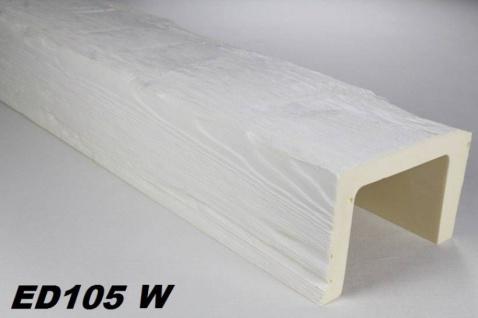 HX-ED105W Deckenbalken aus leichtem Polyurethan Hartschaum als rustikale Innendekoration 130x190mm Preis je Stück